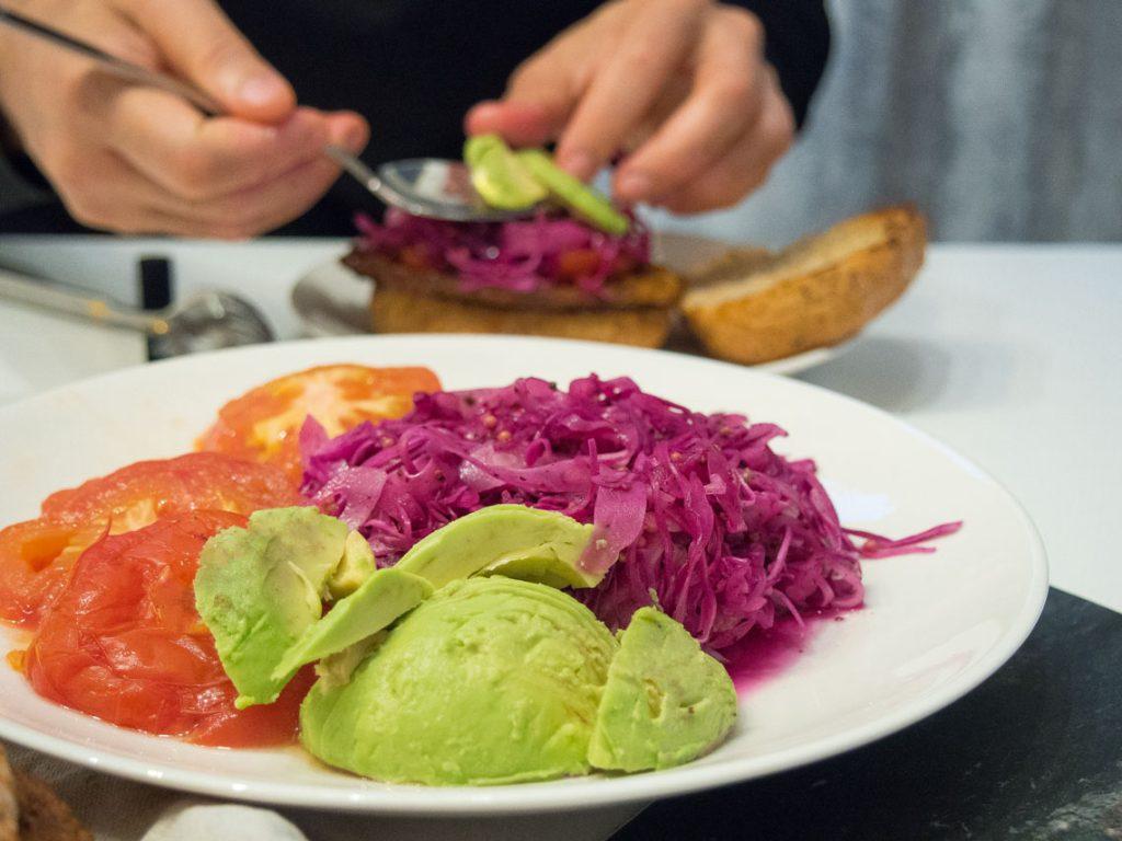 vegan side dished