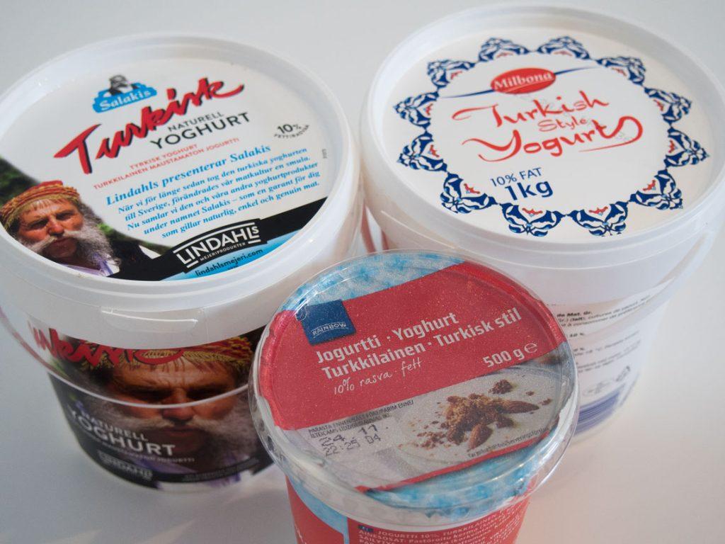 jogurtti vertailu