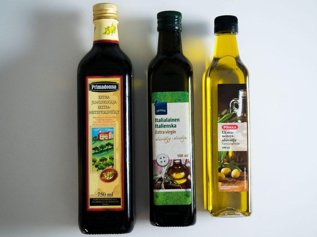 Mitä oliiviöljyä kannattaa ostaa?