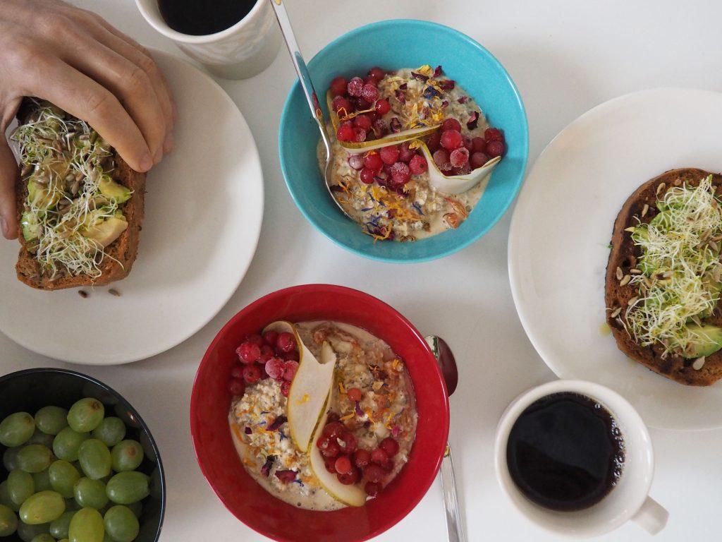 terveellinen aamupala