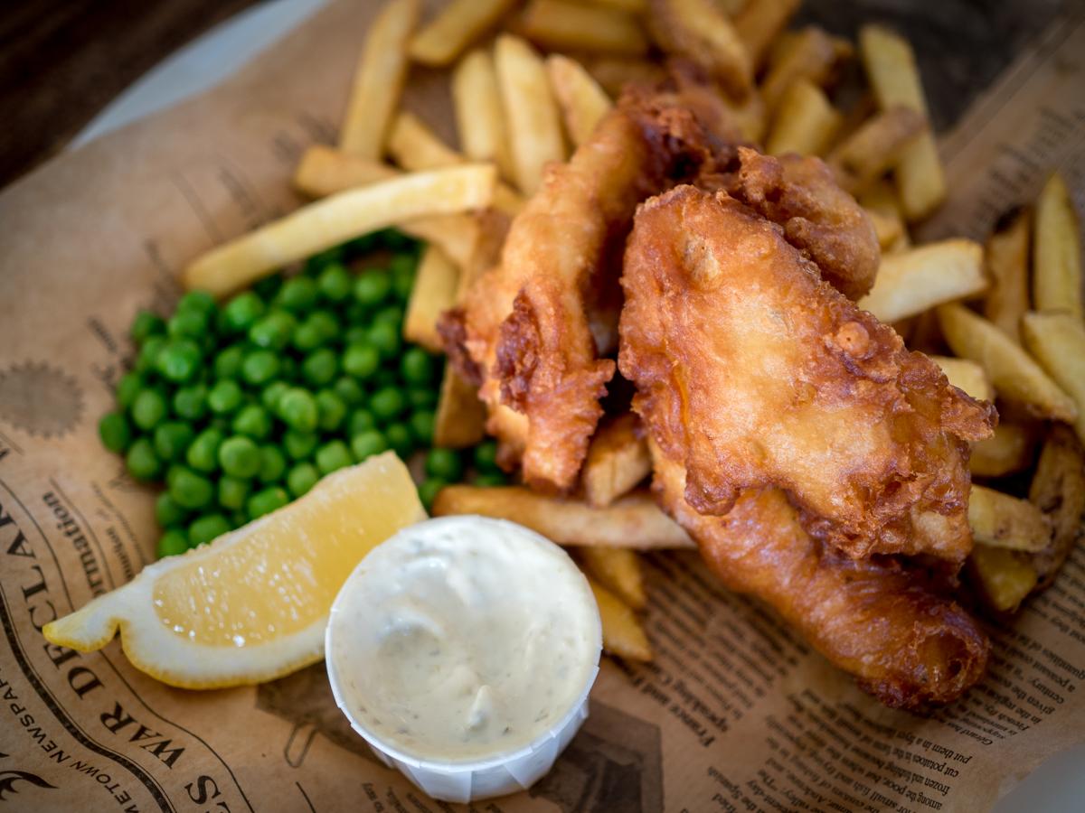 fish and chips porissa