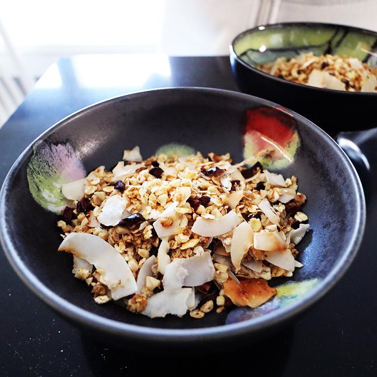 kotitekoinen granola
