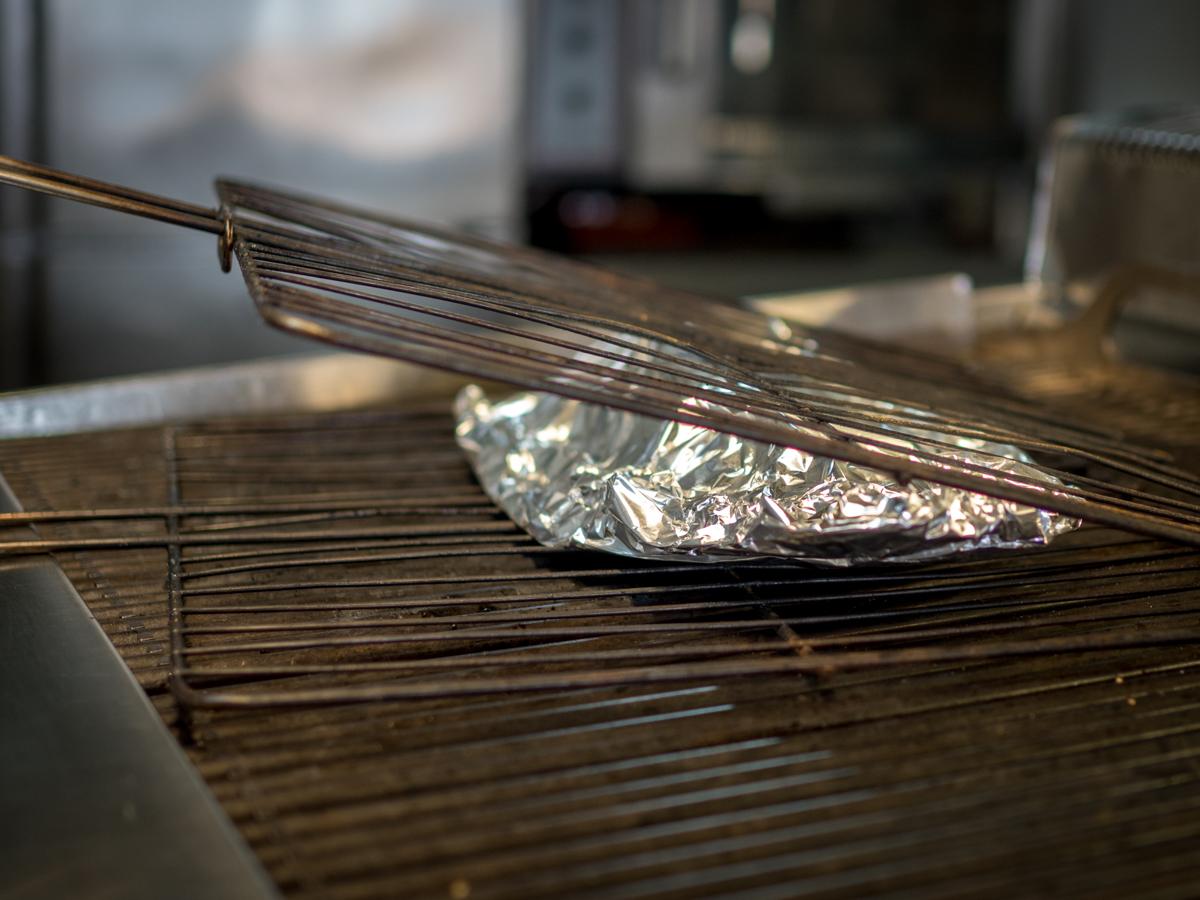 grillattu kala kreetalla